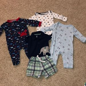 Baby Boy 3-6 Month Clothing Carter's, Old Navy